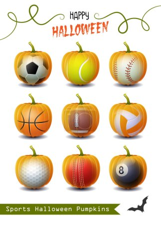 Happy Halloween Collection of different