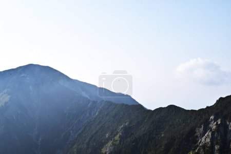 Photo for Mountain landscape with clouds and mountains - Royalty Free Image