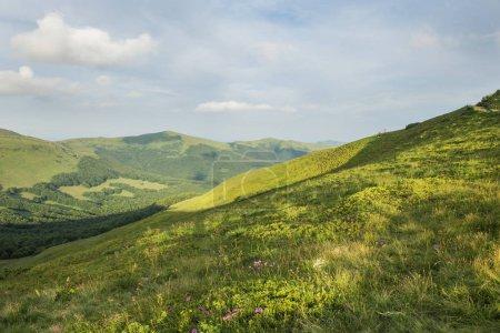 beautiful majestic mountains landscape during daytime