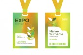 ID card EXPO template