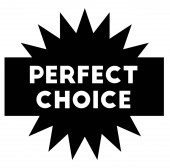 PERFECT CHOICE stamp on white background