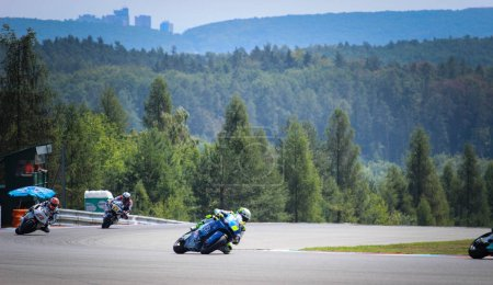 Photo for Moto GP Brno 3 - 5 August 2018. Czech Grand Prix. Motorbike ( motorcycle ) ring race. - Royalty Free Image