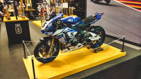 Motorbike exhibition Intermot Cologne Germany