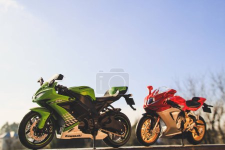 Модели копии мотоциклами
