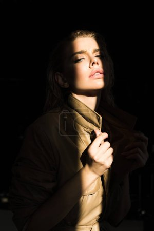 Photo for Portrait of seductive woman in fashionable clothing - Royalty Free Image