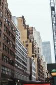 """Постер, картина, фотообои """"Городские сцены с архитектурой города Нью-Йорк, США"""""""