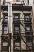 """Постер, картина, фотообои """"Городские сцены с старое здание в Нью-Йорке, США"""""""