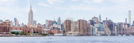 Photo for Panoramic view of new york city, usa - Royalty Free Image