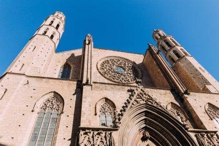 Photo for Exterior of temple expiatori del sagrat, barcelona, spain - Royalty Free Image