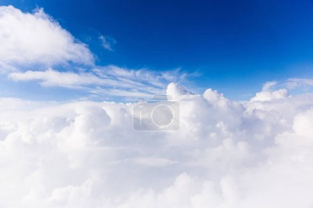 Photo for Blue sky with white clouds in rome, italy - Royalty Free Image