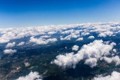 "Постер, картина, фотообои ""aerial view of land under white clouds in rome, italy"""