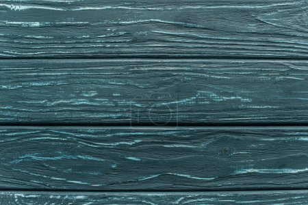 Photo for Top view of wooden green background with copy space - Royalty Free Image