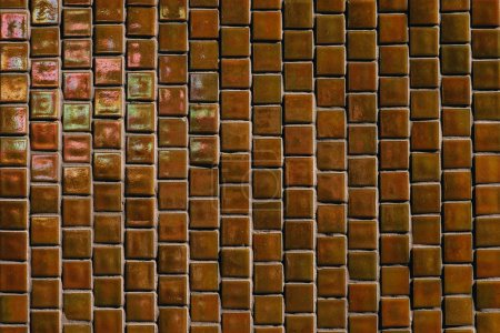 full frame image of ceramic tile wall background