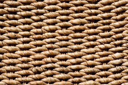 full frame image of brown wicker background