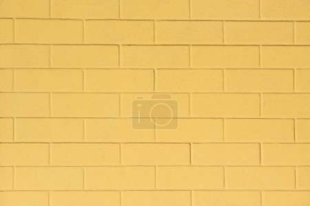 full frame image of painted yellow wall background