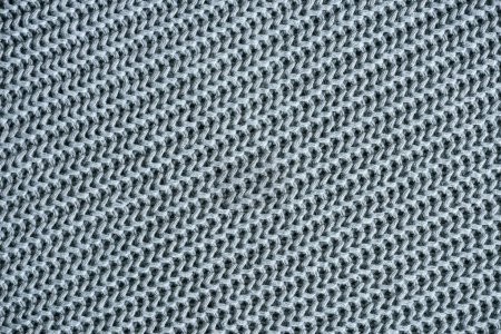 full frame image of grey woolen fabric background