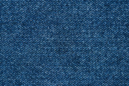 full frame image of blue denim fabric background