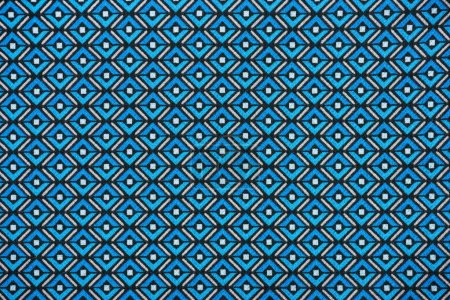 Photo pour Image plein cadre de tissu avec impression de fond Abstrait - image libre de droit