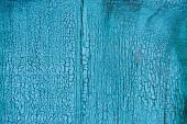 """Постер, картина, фотообои """"полный кадр шероховатый синей деревянной текстуры как фон"""""""