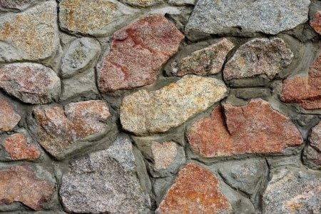 Photo pour Vue rapprochée de la surface de pierres colorées comme fond - image libre de droit