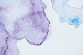 creative light blue and purple watercolor background