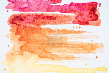 abstract background with colorful watercolor strokes