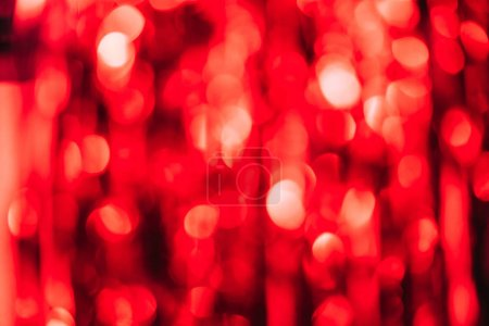 beautiful red serpentine as blurred christmas background