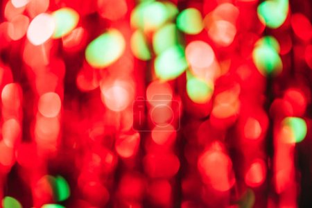 abstract red blurred christmas background