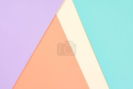 Photo for Abstract modern yellow, blue, purple and orange background with copy space - Royalty Free Image
