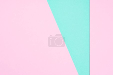 abstract modern pink and blue background with copy space