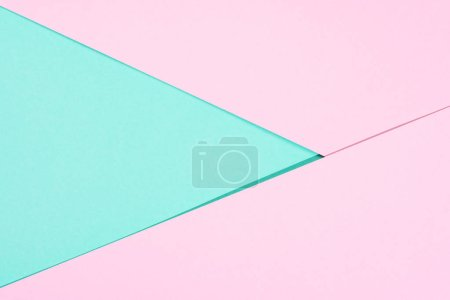 minimalistic modern pink and blue abstract background with copy space