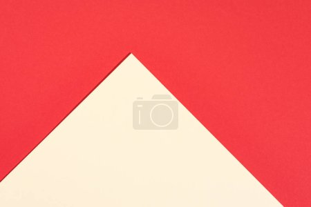Photo for Abstract modern red and yellow background with copy space - Royalty Free Image