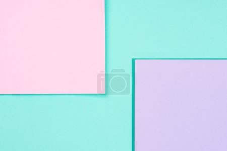 Photo for Simple modern blue, pink and purple abstract background with copy space - Royalty Free Image