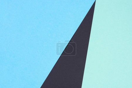 abstract modern blue and black background with copy space