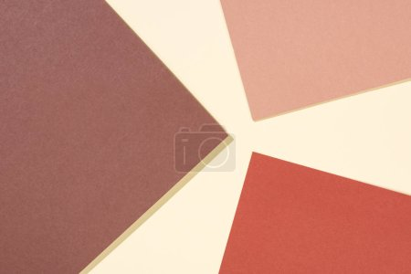 abstract modern brown, yellow and beige background with copy space