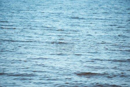full frame image of wavy blue sea background