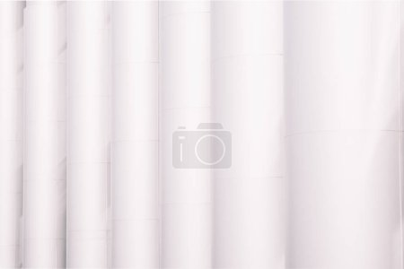 full frame view of traditional white columns background