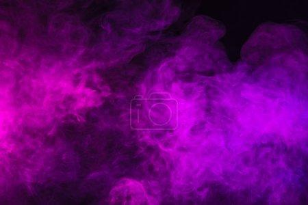 Photo for Dark spiritual violet smoky texture - Royalty Free Image