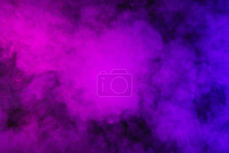 Photo for Abstract mystic violet smoky background - Royalty Free Image
