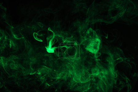 Photo for Abstract smoky mystical dark background - Royalty Free Image
