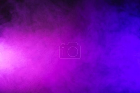 Photo for Abstract pink and purple smoke on dark background - Royalty Free Image