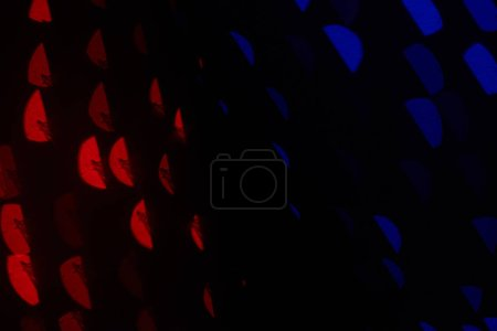 beautiful dark blue, red and black defocused bokeh background