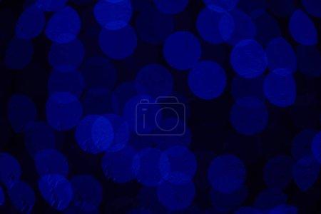 beautiful defocused dark blue elegant bokeh background