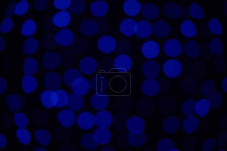 beautiful dark blue defocused bokeh background