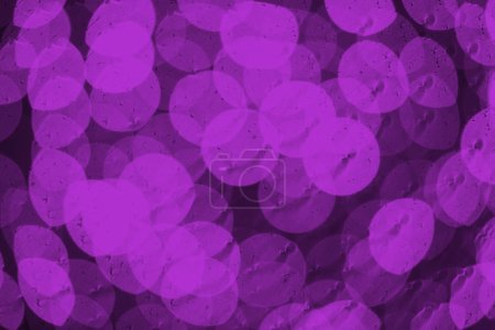 Photo for Beautiful shiny purple defocused bokeh background - Royalty Free Image
