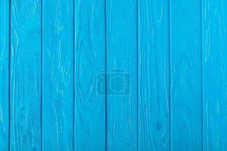 full frame image of blue wooden planks background