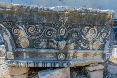 Ruins at Apollo Temple at Didyma in Didim,Aydin,Tu...