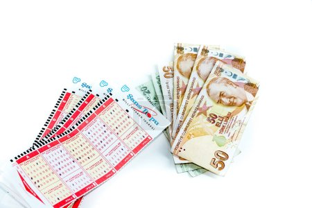 Turkish lotto papers and coupons together