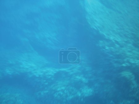 underwater sea view as background