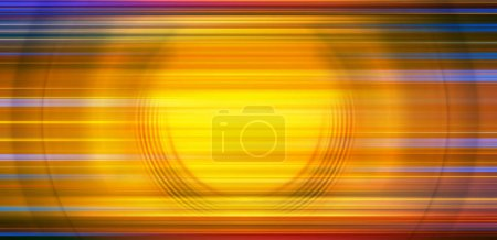 Photo for Abstract Background Of colorful Spin Circle Radial Motion Blur. Background for modern graphic design and text. - Royalty Free Image